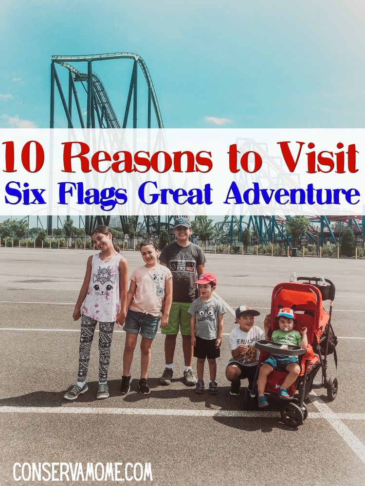 10 Reasons to Visit Six Flags Great Adventures in NJ