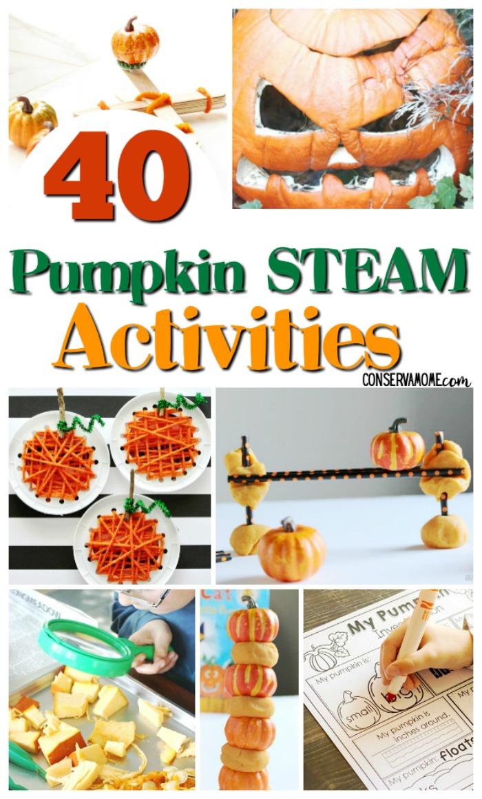 40 Pumpkin STEAM Activities