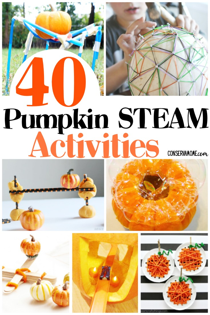 40 Pumpkin STEAM Activities
