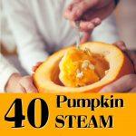 40 Pumpkin Themed STEAM activities