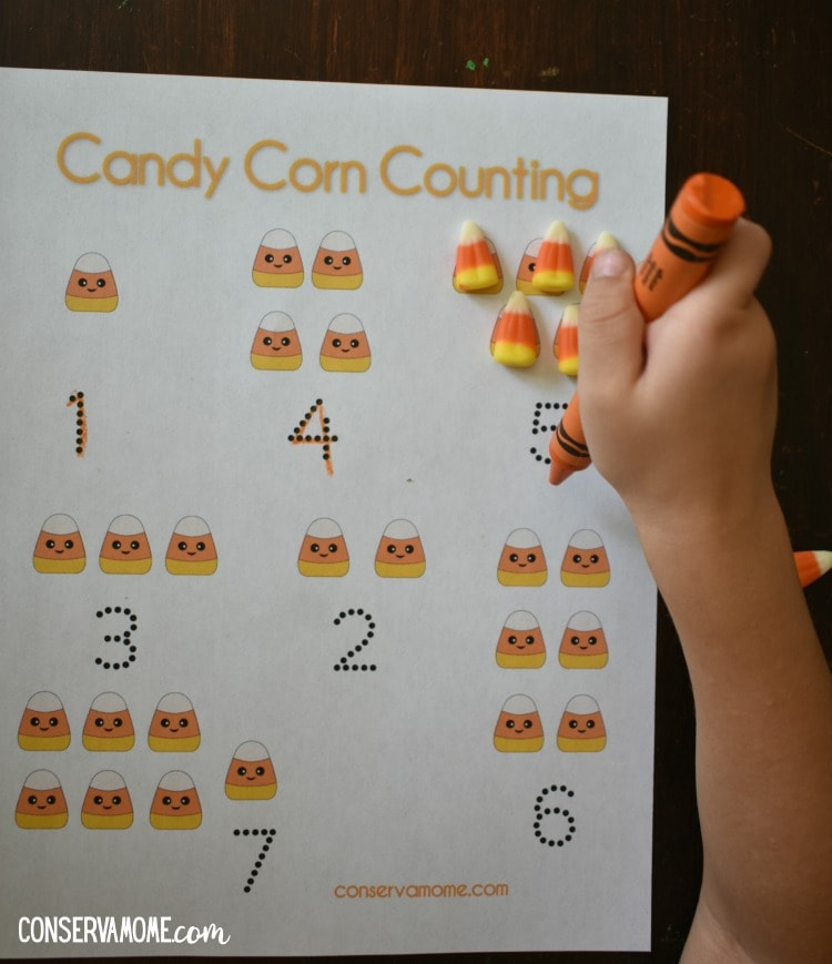 Candy Corn Math :A Fun Preschool Fall Math Activity