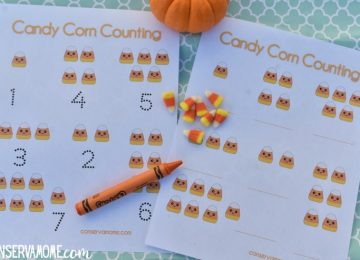 Candy Corn Math :A Fun Preschool Fall Math Activity