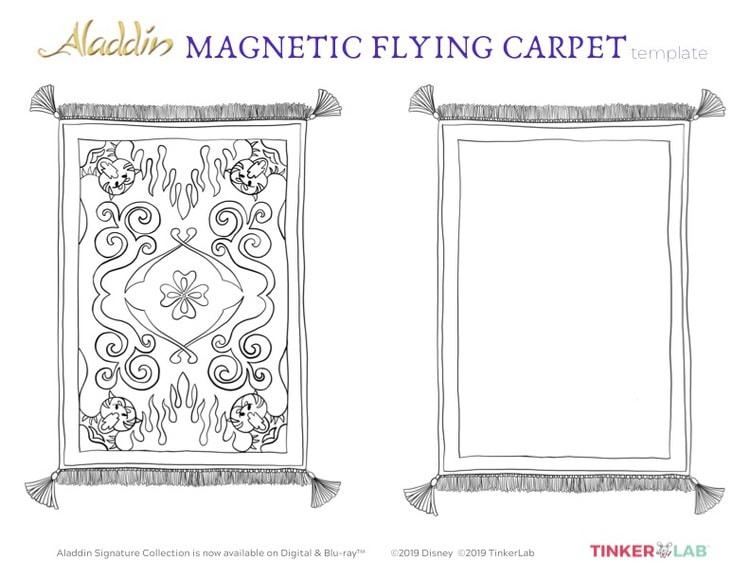 Flying carpet activity