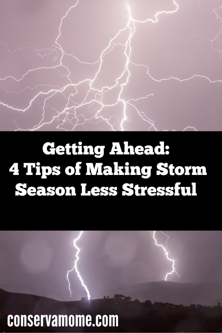 Getting Ahead: 4 Tips of Making Storm Season Less Stressful