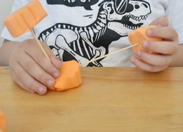 Preschool Fall STEAM activity
