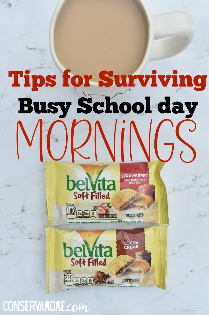 Tips for surviving busy school day mornings