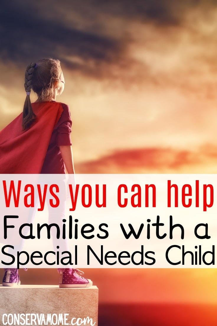 Help families with a special needs child