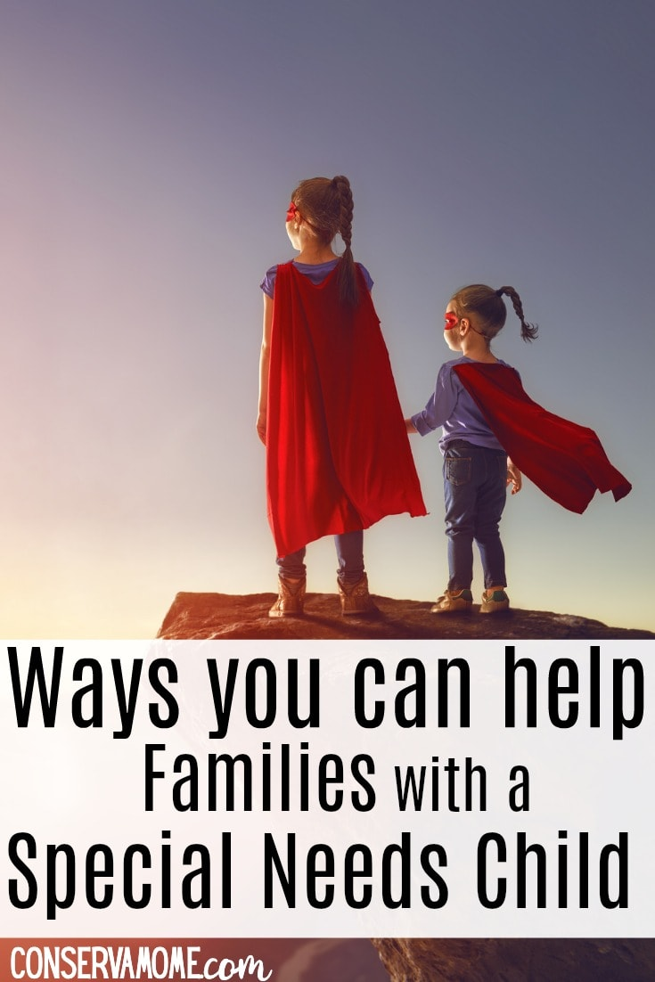 tips on Ways you can help families with a special needs child