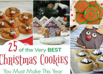 25 of the Very BEST Christmas Cookies You Must Make This Year