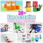 30+ Fun & Creative toilet paper roll crafts