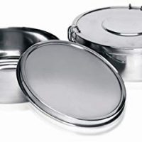 IMUSA USA PHI-T9220 Stainless Steel Flan Mold, 1.5-Quart, Silver