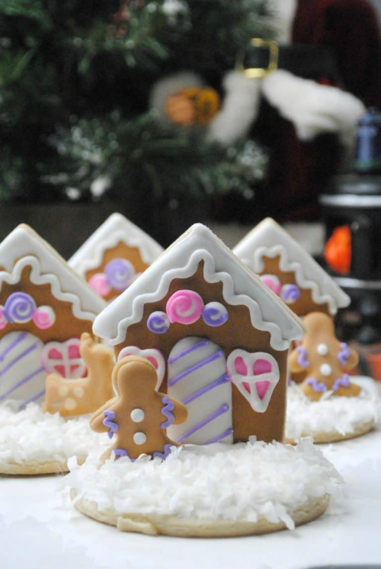 Gingerbread House Cookies