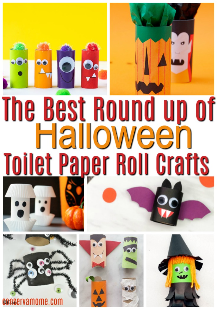 Halloween Toilet paper roll craft ideas