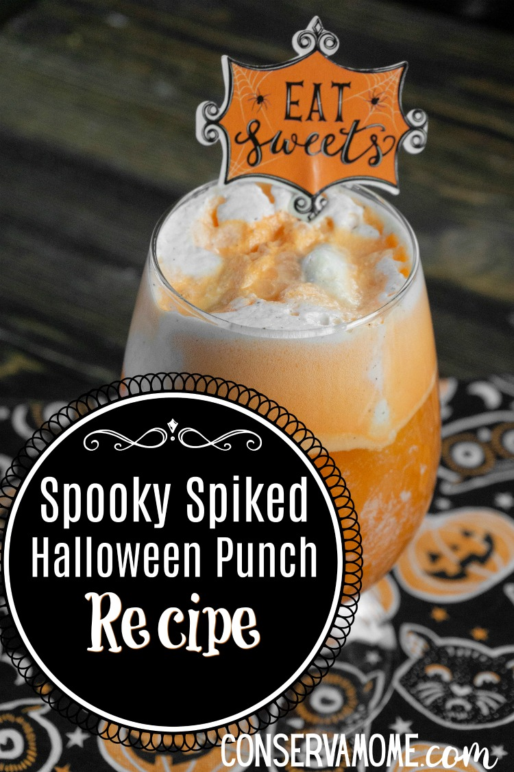 Spooky Spiked Halloween Punch Recipe