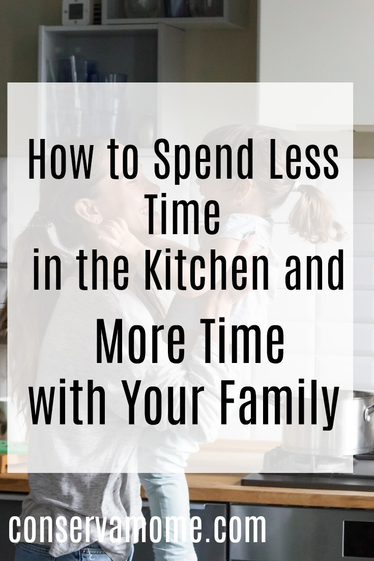 How to spend less time in the kitchen
