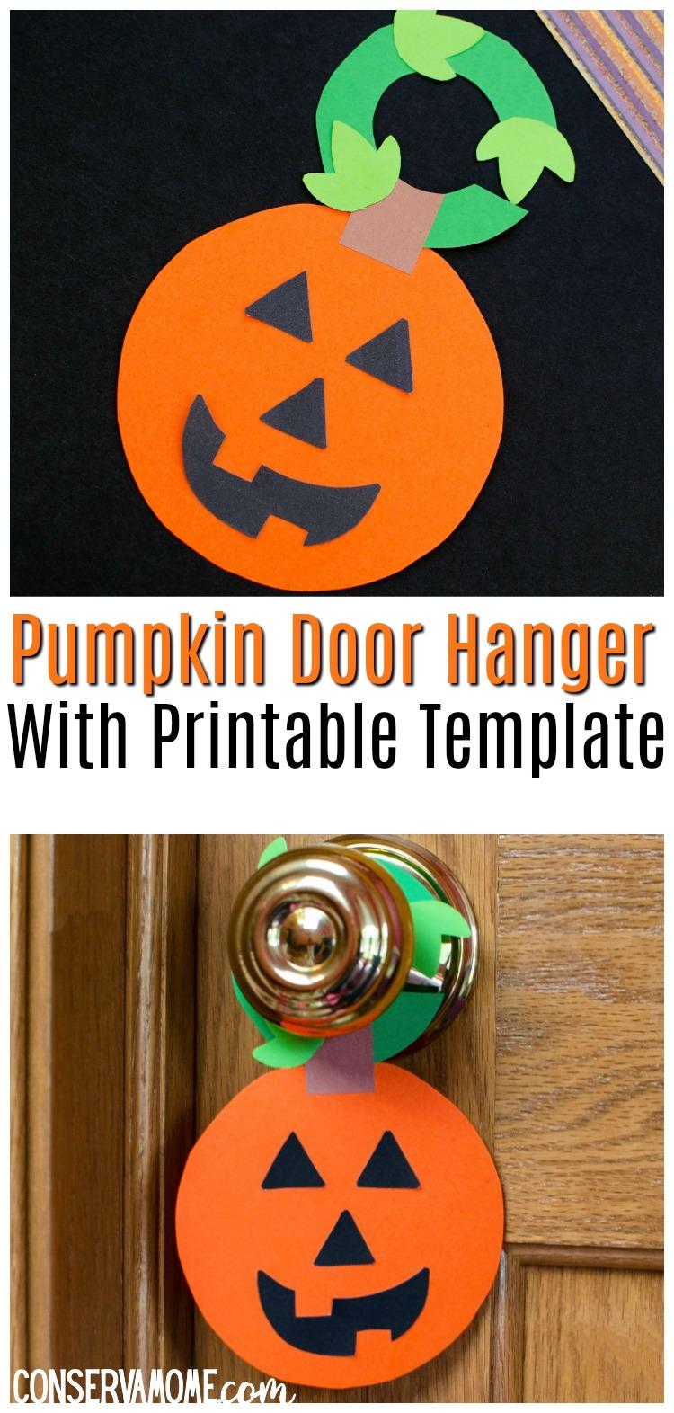 Pumpkin Door Hanger craft