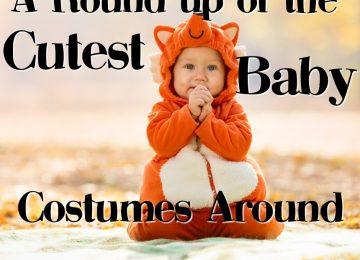 cutest baby costumes around