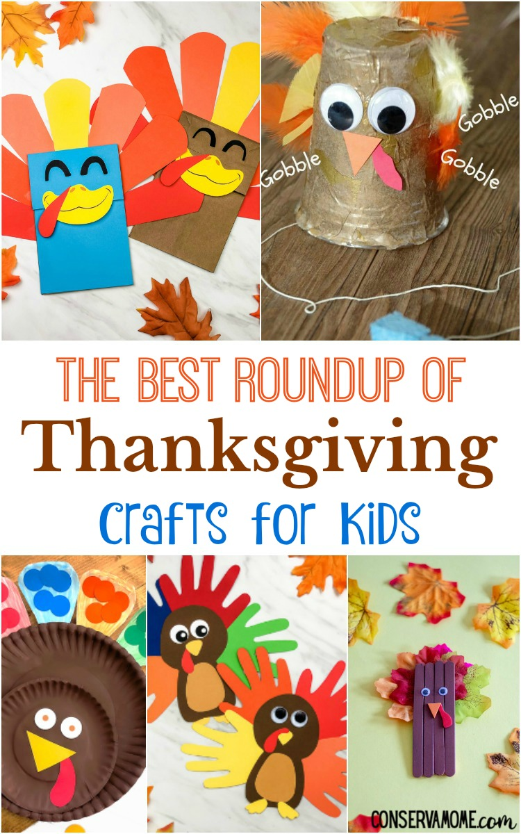 The Best Roundup of Thanksgiving Crafts for Kids
