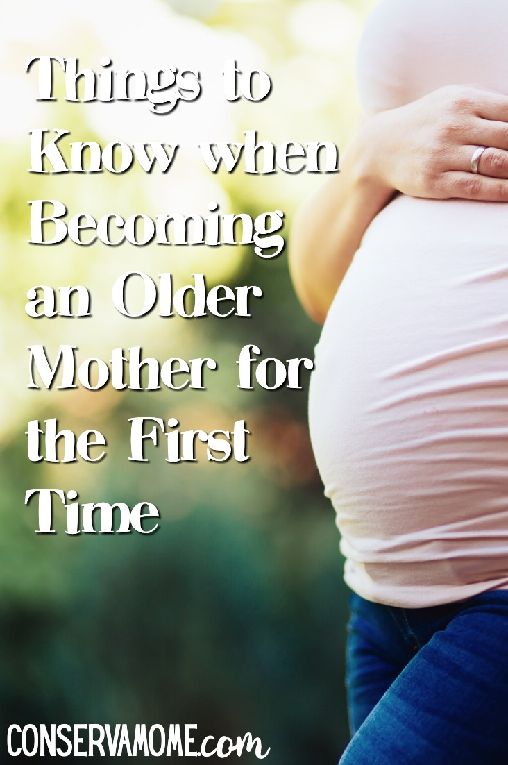 Becoming an older mother