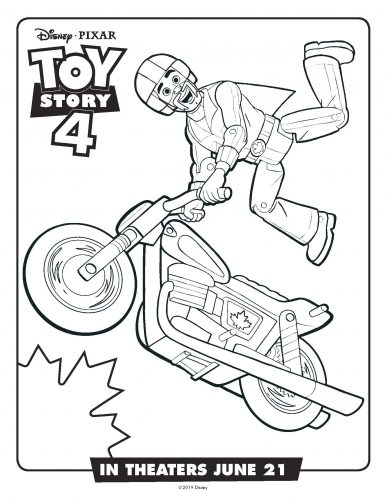 Toy story 4 Activity Sheets
