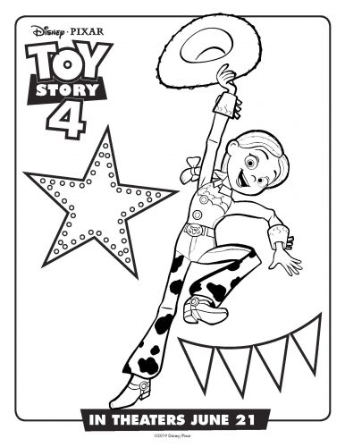 Toy Story 4 Activity