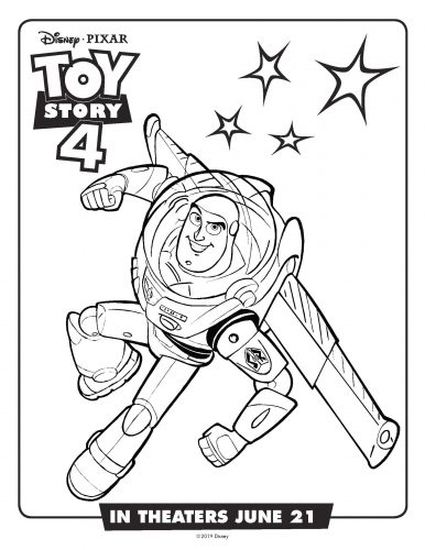 Toy story 4 Activity sheet