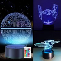 3D Star Wars Lamp - Star Wars Gifts - Star Wars Light