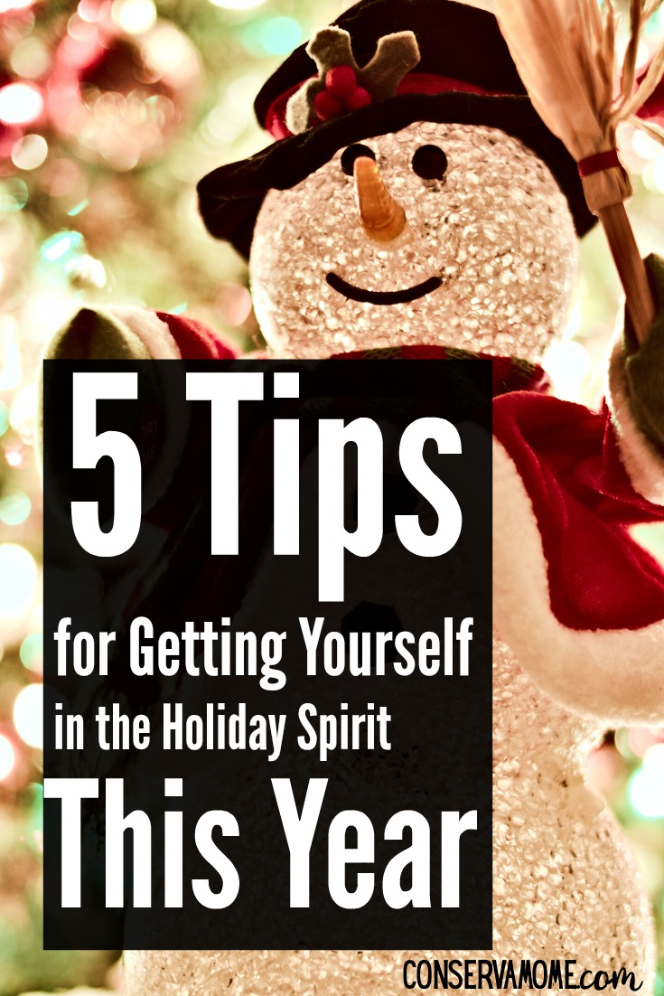 5 tips for getting yourself in the Holiday spirit