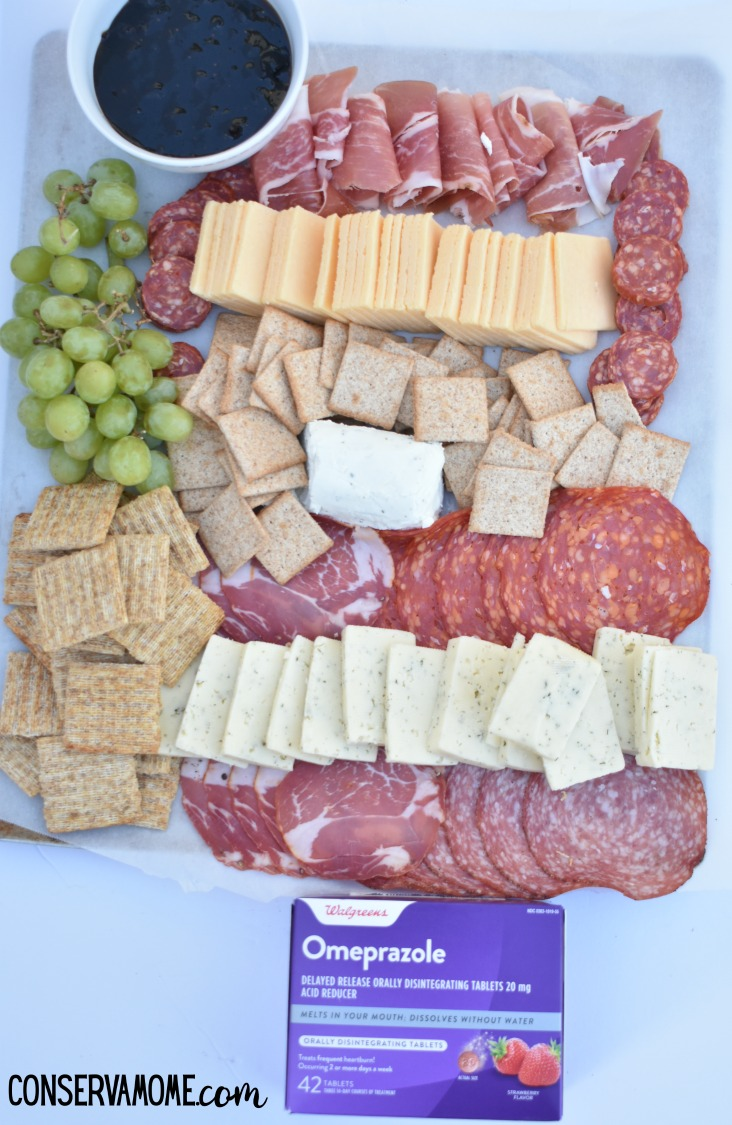 How to make a Charcuterie board + Heartburn Relief