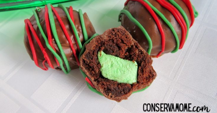 Christmas Brownie Bites