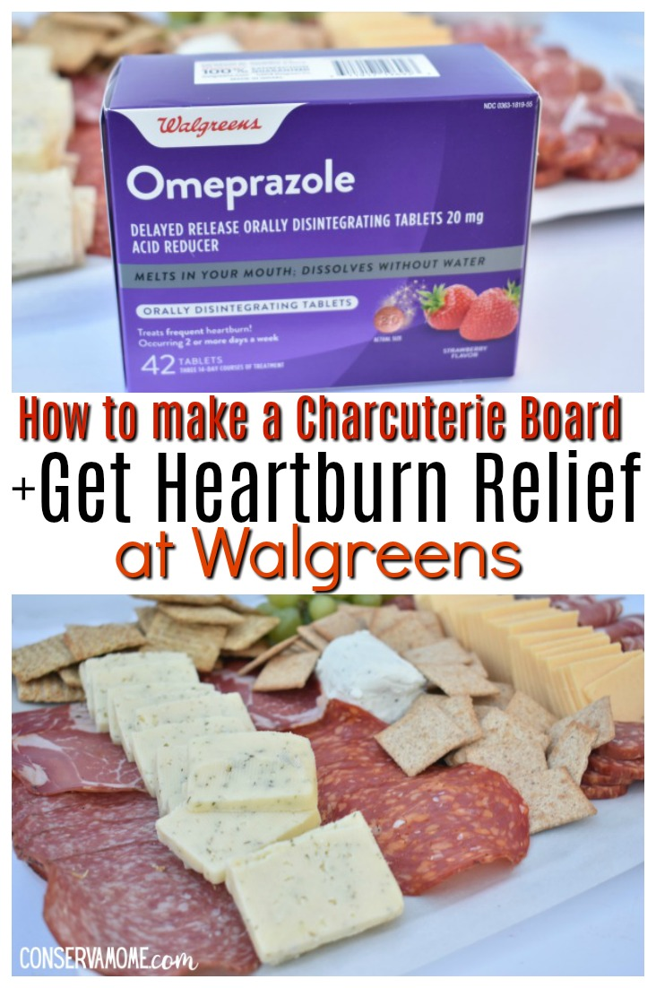 How to make a charcuterie board + How to get heartburn relief