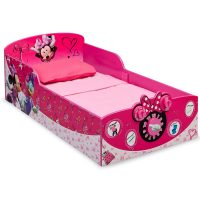 Delta Children Interactive Wood Disney Minnie Mouse Toddler Bed