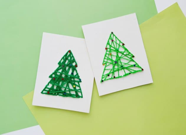 String Art Christmas Crafts