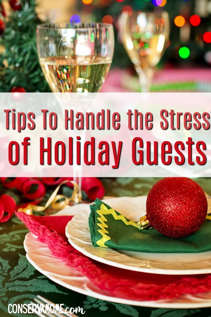 Tips to Handle the stress of Holiday guests