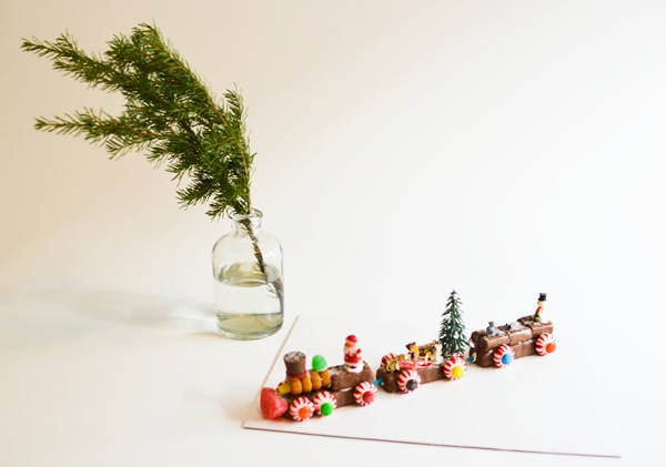 Christmas Candy Train Craft