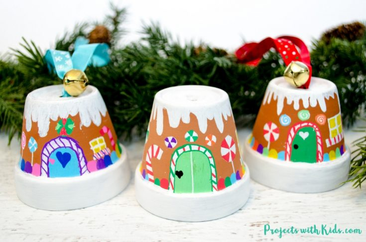 The Sweetest Gingerbread House Ornaments