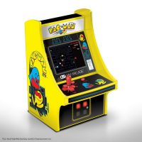 My Arcade Micro Player Mini Arcade Machine: Pac-Man Video Game, Fully Playable, 6.75 Inch Collectible,