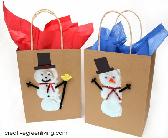 Make Cute Custom Gift Bags With Your Kids