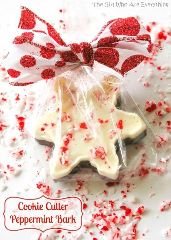 Cookie Cutter Peppermint Bark