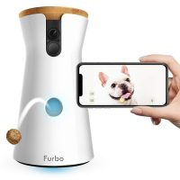 Furbo Dog Camera: Treat Tossing, Full HD Wifi Pet Camera and 2-Way Audio, Designed for Dogs,