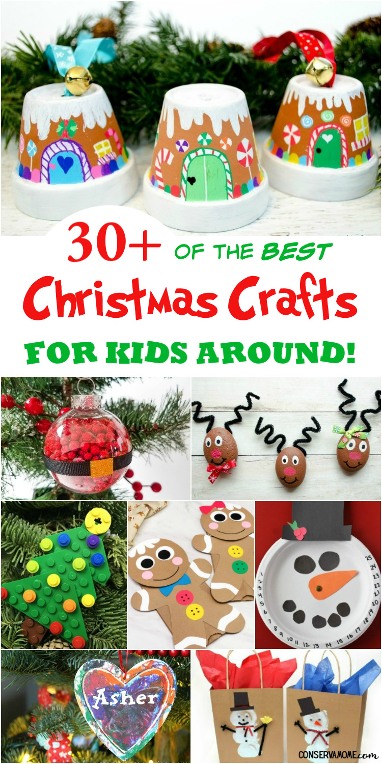 30+ of the Best Christmas Crafts for Kids Around!