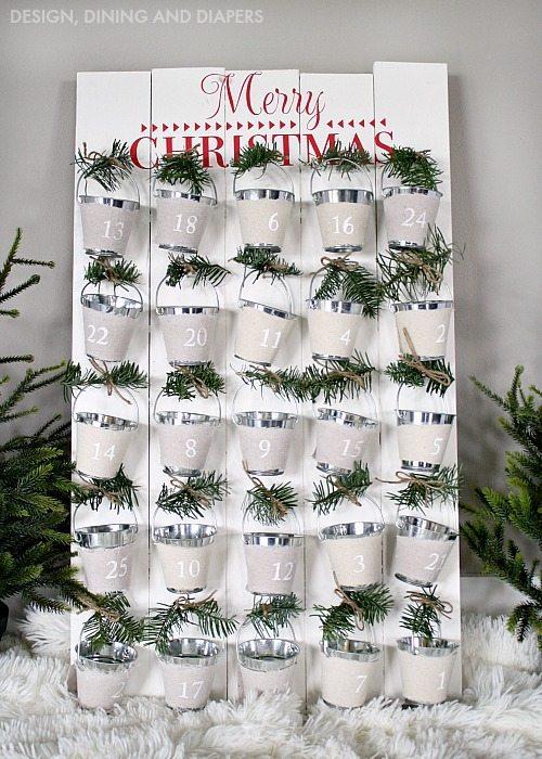 DIY Advent Calendar & Rockwell Tools Giveaway!