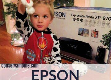 Epson Printer Review + Sensory Activity