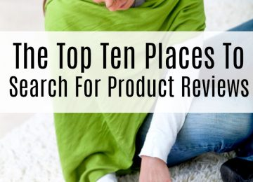 Top ten places to search for product reviews