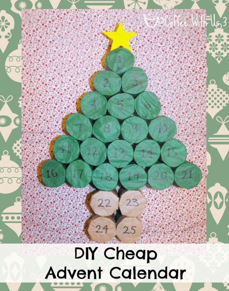 DIY Cheap Advent Calendar
