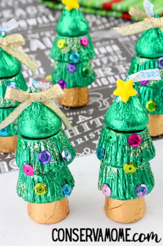 edible christmas tree treat