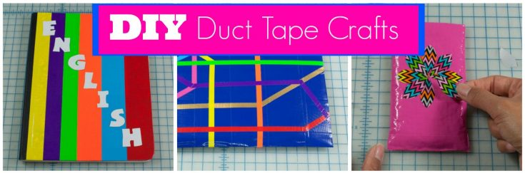 3 Easy Duct Tape Crafts for Back to School