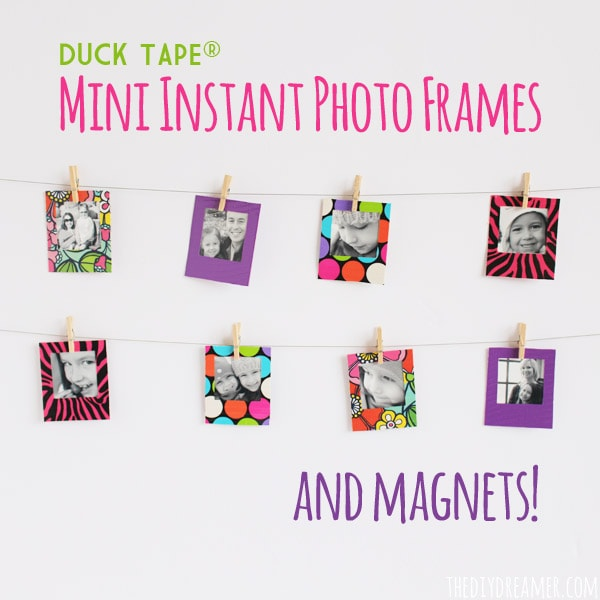 Duck Tape® Mini Instant Photo Frames and Magnets