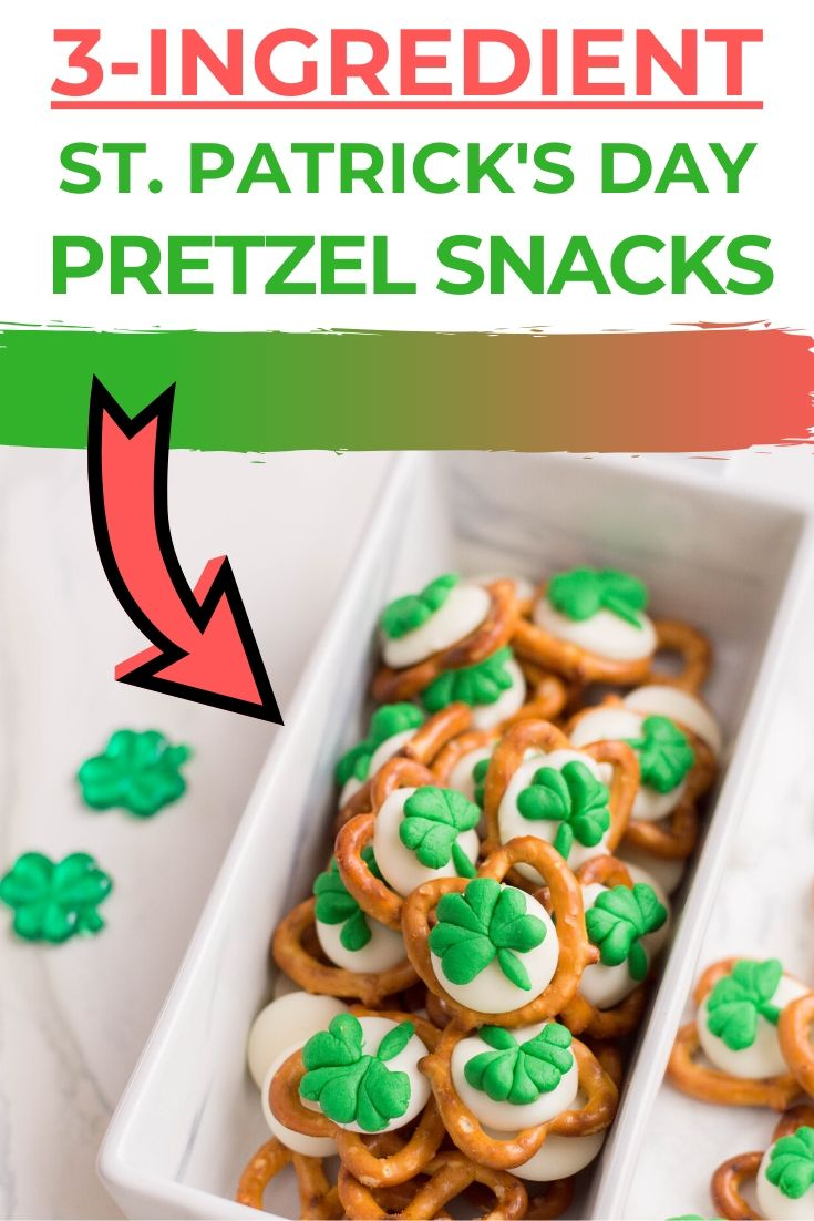 st.patrick's day pretzel snacks