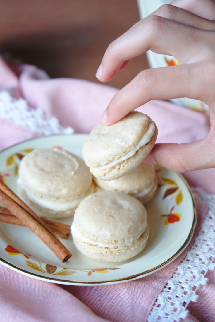 Spiced Chai Macarons